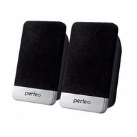 "Колонки PERFEO ""MONITOR"" 2.0, мощность 2х3 Вт (RMS), чёрн, USB (PF-2079). Интернет-магазин Vseinet.ru Пенза"