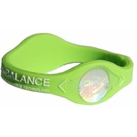 POWER BALANCE XS Neon White Hologram Green/White. Интернет-магазин Vseinet.ru Пенза