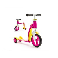 Scoot&Ride Highway Freak 2016 New White-Pink-Yellow. Интернет-магазин Vseinet.ru Пенза