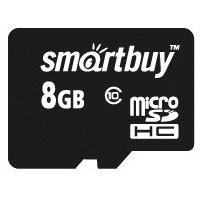 Карта памяти SmartBuy - micro SDHC 8Гб, Class 10(SB8GBSDCL10-00). Интернет-магазин Vseinet.ru Пенза