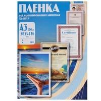 Пленка для ламинирования Office Kit, 60 мик, А3, 100 шт., глянцевая 303х426 (PLP10025). Интернет-магазин Vseinet.ru Пенза