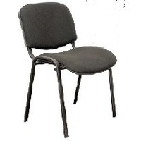 Фото OLSS стул ИЗО цвет В-14 черный, рама черная. Интернет-магазин Vseinet.ru Пенза