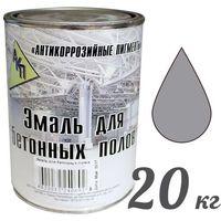 """Эмаль для бетонных полов серая,ведро 20 кг. """"АКП"""". Интернет-магазин Vseinet.ru Пенза"""