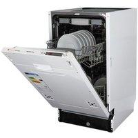 Посудомоечная машина Zigmund & Shtain DW 129.4509 X встраиваемая полностью. Интернет-магазин Vseinet.ru Пенза
