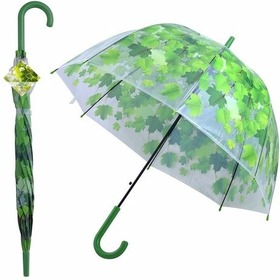 """Зонт """"Листья"""" (полуавтомат) NEW, 24.12 (МультиДом)"""