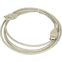 Фото Кабель-удлинитель USB A(m) USB A(f) 1.8м серый. Интернет-магазин Vseinet.ru Пенза