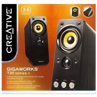 Активная акустика Creative GigaWorks T20 series II / 2.0 / 50 - 20000 Гц / чёрный. Интернет-магазин Vseinet.ru Пенза
