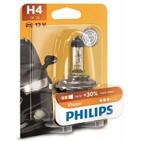 Лампа галогенная PHILIPS H4 Vision 12V 60/55W, 1шт, 12342PRB1. Интернет-магазин Vseinet.ru Пенза