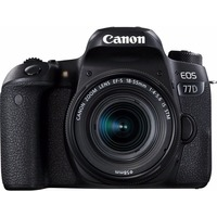 "Зеркальный Фотоаппарат Canon EOS 77D KIT черный 24.2Mpix EF-S 18-55mm f/3.5-5.6 IS STM 3"" 1080p Full HD SDXC Li-ion. Интернет-магазин Vseinet.ru Пенза"