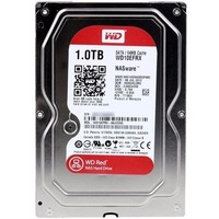 Жесткий диск HDD  Western Digital Red WD10EFRX, 1000Гб, SATA 6Gb/s, 5400 об/мин, 64 Мб. Интернет-магазин Vseinet.ru Пенза