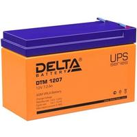 Фото ИБП Батарея аккумуляторная Delta DTM 1207 (для ИБП) 12V 7.2Ah. Интернет-магазин Vseinet.ru Пенза