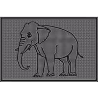 """Коврик резиновый """"Слон"""" (400х600 мм) черный тип. КА 202-1 РТИ. Интернет-магазин Vseinet.ru Пенза"""