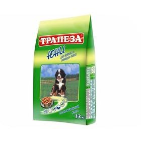 Корм сухой Трапеза Юни / для щенков всех пород / 13 кг / (29650)
