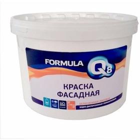 Фото Краска ВД белоснежная фасадная 3 кг Formula Q8. Интернет-магазин Vseinet.ru Пенза