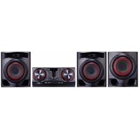 Минисистема LG CJ45 черный 720Вт/CD/CDRW/FM/USB/BT. Интернет-магазин Vseinet.ru Пенза