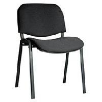 OLSS стул ИЗО черный обивка - кож.зам. рама окрашенная черной порошковой краской. Интернет-магазин Vseinet.ru Пенза
