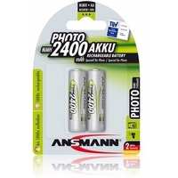 Аккумулятор Ansmann Photo AA 2400 mAh R2U (уп 2 шт). Интернет-магазин Vseinet.ru Пенза