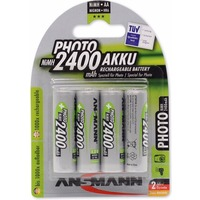 Аккумулятор Ansmann Photo AA 2400 mAh R2U (уп 4 шт). Интернет-магазин Vseinet.ru Пенза