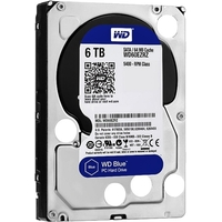 Фото Жесткий диск HDD  Western Digital Blue WD60EZRZ, 6000Гб, SATA 6Gb/s, 5400 об/мин, 64 Мб. Интернет-магазин Vseinet.ru Пенза