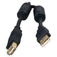 Фото Кабель 5bites USB удлинитель UC5011-018A EXPRESS USB2.0 / AM-AF / FERRITES / 1.8M / BLACK. Интернет-магазин Vseinet.ru Пенза