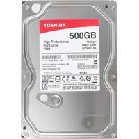 Жесткий диск HDD  Toshiba P300 HDWD105UZSVA, 500Гб, SATA 6Gb/s, 7200 об/мин, 64 Мб. Интернет-магазин Vseinet.ru Пенза