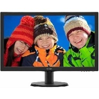 "Монитор Philips 23.6"" 243V5LHAB5 (00/01) черный TN+film LED 5ms 16:9 DVI HDMI M/M матовая 250cd 1920x1080 D-Sub FHD 3.66кг. Интернет-магазин Vseinet.ru Пенза"