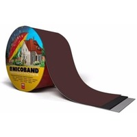 NICOBAND Самоклеящаяся гирметизирующая лента,цвет коричневый,длина 10м,ширина 10см(343851). Интернет-магазин Vseinet.ru Пенза