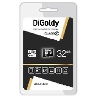 Карта памяти DIGoldy micro SDHC 32Гб, Class 10. Интернет-магазин Vseinet.ru Пенза
