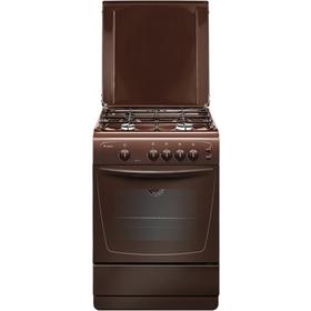 Плита Gefest ПГ 1200 С6 К19 газовая коричневая