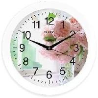 Часы Energy EC-96, белые с рисунком «цветы». Интернет-магазин Vseinet.ru Пенза