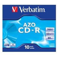 Диск CD-R Verbatim 700Mb 52x DataLife+ Jewel Case (10шт) 43327. Интернет-магазин Vseinet.ru Пенза