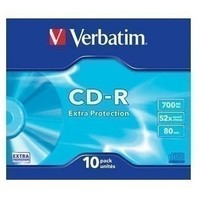 Диск CD-R Verbatim 700Mb 52x DataLife Slim (10 шт.) 43415. Интернет-магазин Vseinet.ru Пенза
