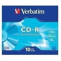 Диск CD-R Verbatim 700Mb 52x DataLife Slim (10 шт.) 43415. Интернет-магазин Vseinet.ru Пенза
