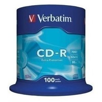 Диск CD-R Verbatim 700Mb 52x DataLife Cake Box (100шт) 43411. Интернет-магазин Vseinet.ru Пенза
