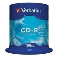 Диск CD-R Verbatim 700Mb 52x DataLife Cake Box (100шт) 43411. Интернет-магазин Vseinet.ru Пенза