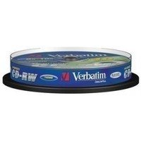 Диск CD-RW Verbatim 700Mb 10x Cake Box DataLife+ (10шт) 43480. Интернет-магазин Vseinet.ru Пенза