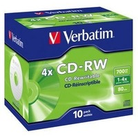 Диск CD-RW Verbatim 700Mb 2x-4x DataLife+ (1шт) 43123. Интернет-магазин Vseinet.ru Пенза