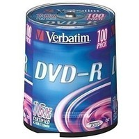 Диск DVD-R Verbatim 4,7Gb 16x Cake Box (100шт) 43549 (минимум 4 бокса). Интернет-магазин Vseinet.ru Пенза