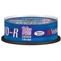 Диск DVD-R Verbatim 4.7Gb 16x Cake Box (25шт) 43522. Интернет-магазин Vseinet.ru Пенза