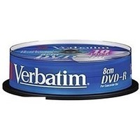 Диск DVD-R Verbatim 1.46Gb 4x 8cm Cake Box Printable (10шт) 43573. Интернет-магазин Vseinet.ru Пенза