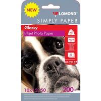 Бумага Lomond Simply 0102167 10x15/200г/м2/50л./белый глянцевое для струйной печати. Интернет-магазин Vseinet.ru Пенза