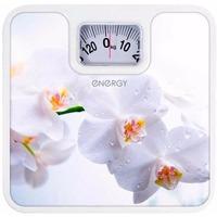 Весы напольные Energy ENМ-409Е, белые с рисунком. Интернет-магазин Vseinet.ru Пенза