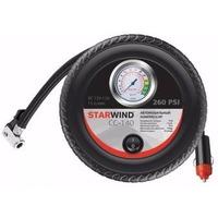 Автомобильный компрессор Starwind CC-140 15л/мин шланг 0.5м. Интернет-магазин Vseinet.ru Пенза