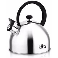 LR00-65 Чайник LARA (матовый) 2.5л, индукционное капсулированное дно, нейлоновая ручка. Интернет-магазин Vseinet.ru Пенза