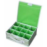 Коробка для хранения нижнего белья (12 ячеек) с отк.крышкой Р-р ячеек- 7х7см, NWH-1, 28*23 (312144). Интернет-магазин Vseinet.ru Пенза