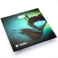 Весы напольные Delta D-9227, многоцветные с рисунком. Интернет-магазин Vseinet.ru Пенза
