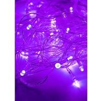 Гирлянда КОСМОС 50LED V (фиолетовый, 7,5м, 8 режимов мигания). Интернет-магазин Vseinet.ru Пенза