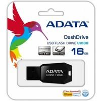 Флешка ADATA DashDrive UV100 16Гб,  USB 2.0, черная (AUV100-16G-RBK). Интернет-магазин Vseinet.ru Пенза