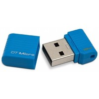 Флешка Kingston DataTraveler DTMCK 16 Гб,  USB 2.0, синяя (DTMCK/16GB). Интернет-магазин Vseinet.ru Пенза