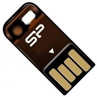 Флешка Silicon Power Touch T02 16Гб,  USB 2.0, оранжевая (SP016GBUF2T02V1O). Интернет-магазин Vseinet.ru Пенза